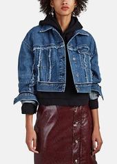 Acne Studios Women's Oriana Cropped Denim Jacket