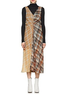 Acne Studios Women's Plaid Midi-Dress