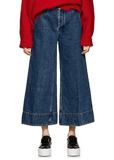 Acne Studios Women's Wide-Leg Crop Jeans