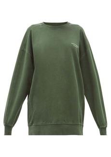 Acne Studios Wora logo-embroidered cotton sweatshirt