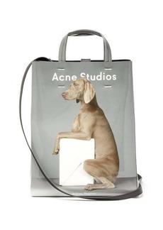Acne Studios X William Wegman Baker medium dog-print tote bag