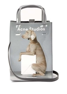 Acne Studios X William Wegman Baker small dog-print tote bag