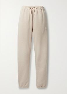 Acne Studios Appliqued Cotton-jersey Track Pants