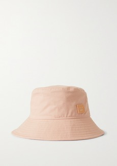 Acne Studios Appliqued Cotton-twill Bucket Hat