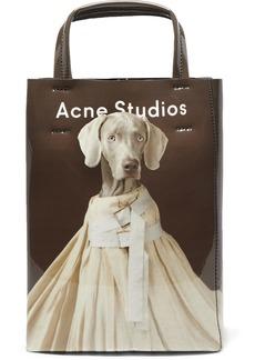 Acne Studios Baker Small Printed Pvc Tote
