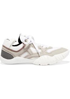 Acne Studios Berun Suede And Mesh Sneakers