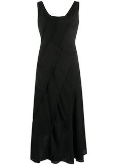 Acne Studios bias-cut patchwork dress