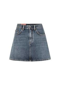Acne Studios Blå Konst Caitlyn denim miniskirt