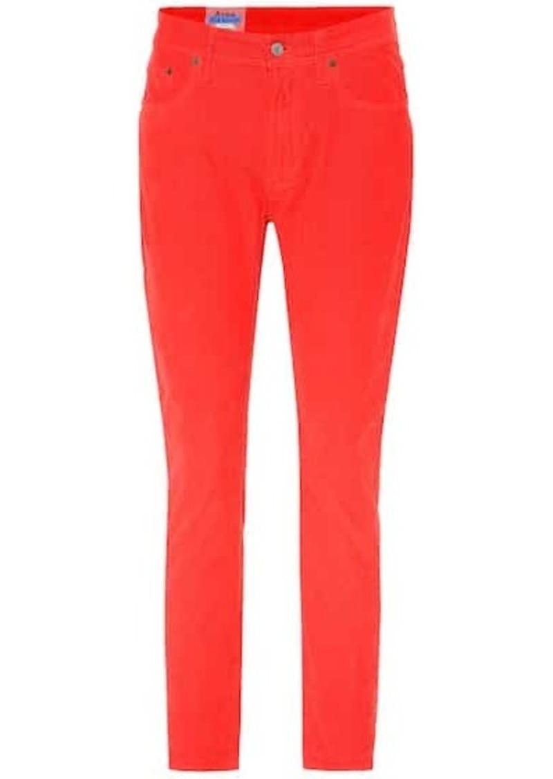 Acne Studios Blå Konst corduroy pants