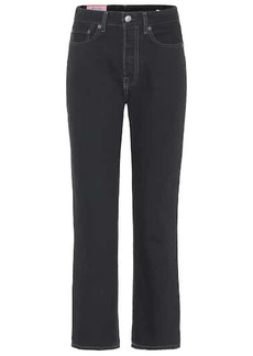 Acne Studios Blå Konst cropped straight jeans
