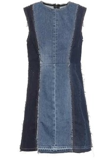 Acne Studios Blå Konst denim minidress