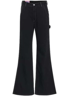 Acne Studios Blå Konst high-rise flared jeans