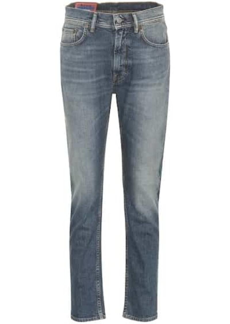 Acne Studios Blå Konst Melk high-rise slim jeans