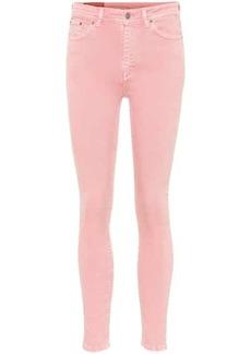 Acne Studios Blå Konst Peg high-rise skinny jeans