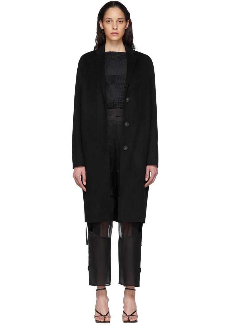 Acne Studios Black Avalon Coat