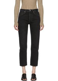 Acne Studios Black Blå Konst 1997 Jeans