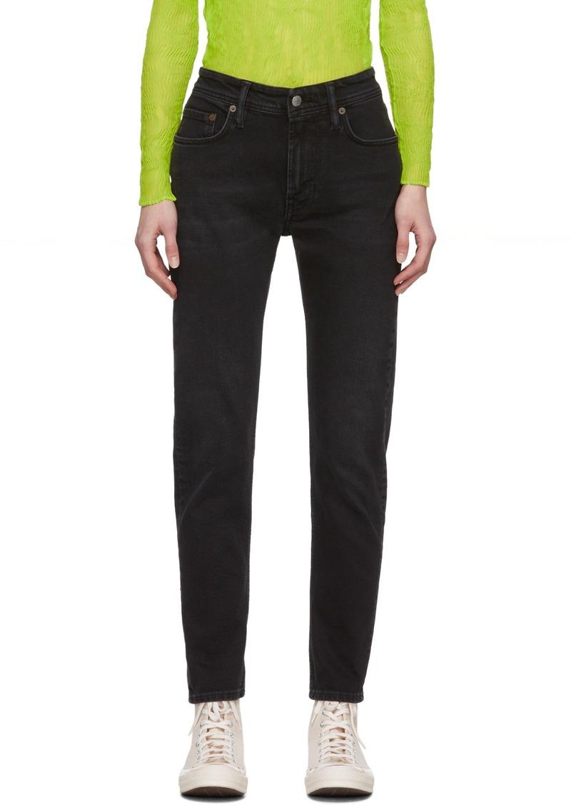 Acne Studios Black Blå Konst Melk Jeans