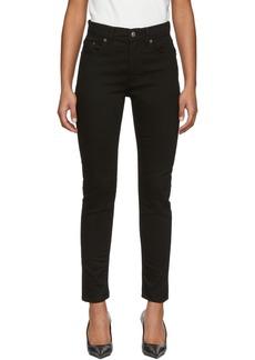Acne Studios Black Blå Konst Melk Stay Jeans