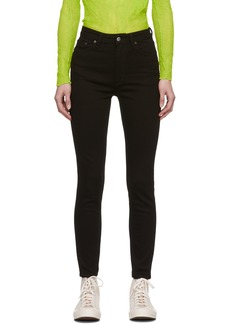 Acne Studios Black Blå Konst Peg Jeans
