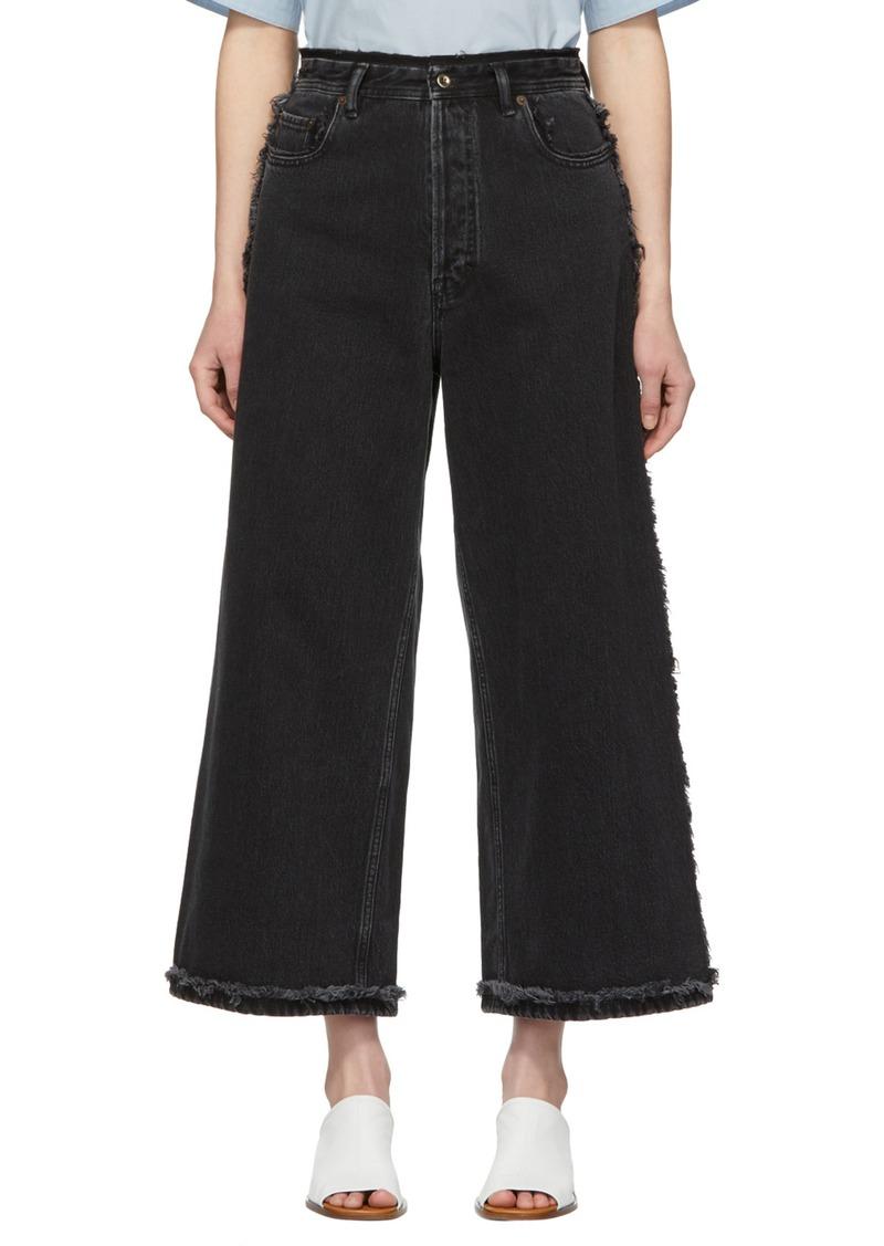 Acne Studios Black Phelina Jeans