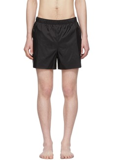 Acne Studios Black Warrick Swim Shorts