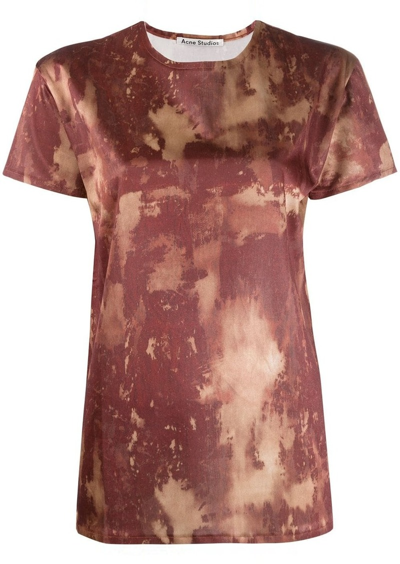 Acne Studios bleach print T-shirt