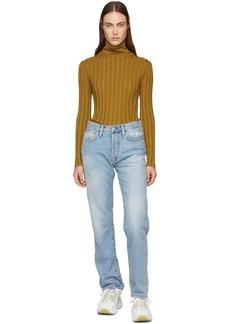 Acne Studios Blue Blå Konst 1997 Trash Jeans
