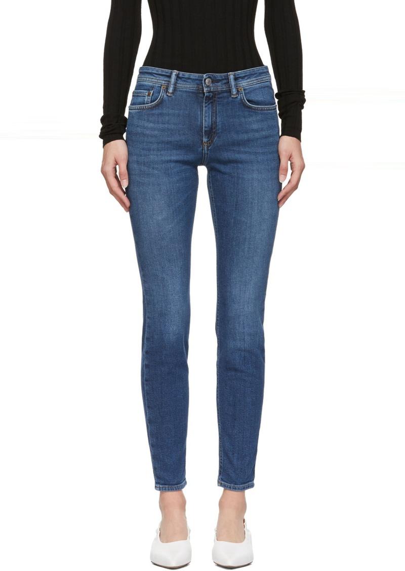 Acne Studios Blue Blå Konst Climb Jeans