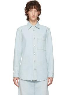 Acne Studios Blue Blå Konst Denim Tar Shirt