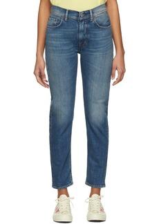 Acne Studios Blue Blå Konst Melk Jeans