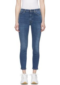 Acne Studios Blue Blå Konst Peg Jeans