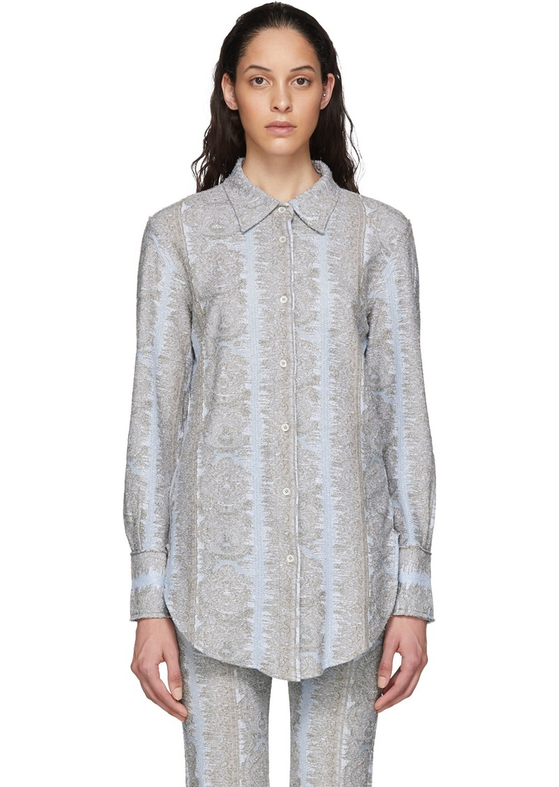Acne Studios Blue Esophi Shirt