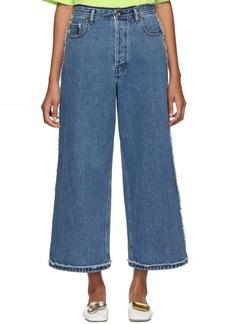 Acne Studios Blue Phelina Jeans