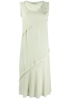 Acne Studios bias-cut georgette dress