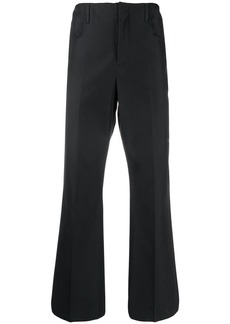 Acne Studios boot-cut cropped trousers