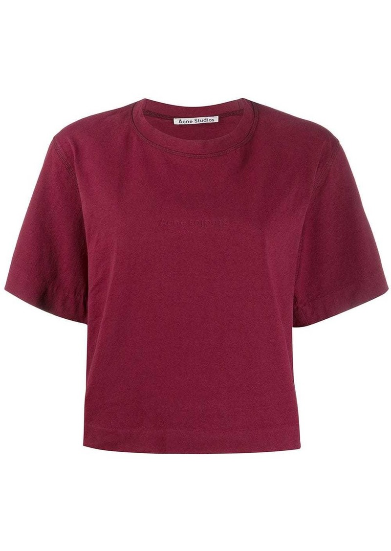 Acne Studios boxy-fit logo T-shirt