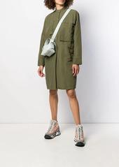Acne Studios boxy fit shirt dress