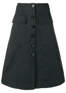 Acne Studios button front skirt