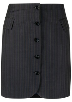 Acne Studios button up striped skirt
