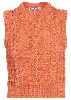 Acne Studios Cable-knit sweater vest