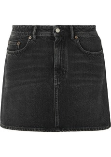 Acne Studios Caitlyn Denim Mini Skirt