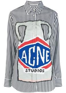 Acne Studios ceramic print shirt
