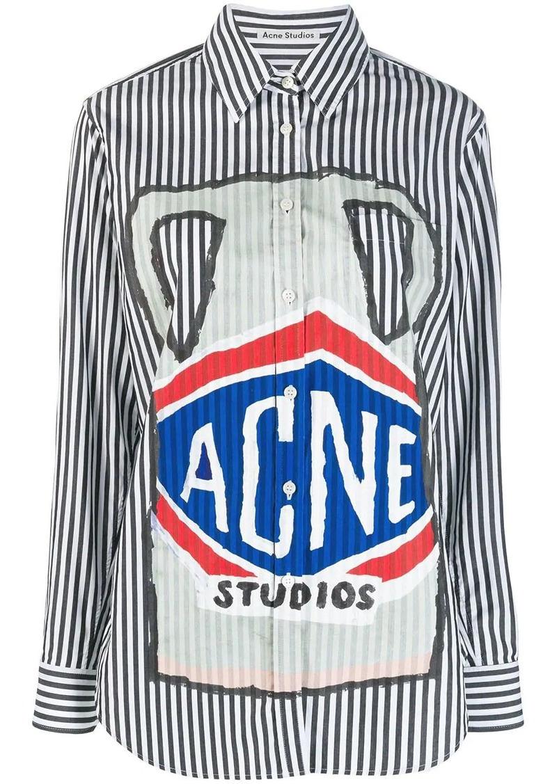 Acne Studios ceramic print shirt