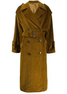 Acne Studios corded single breasted coat