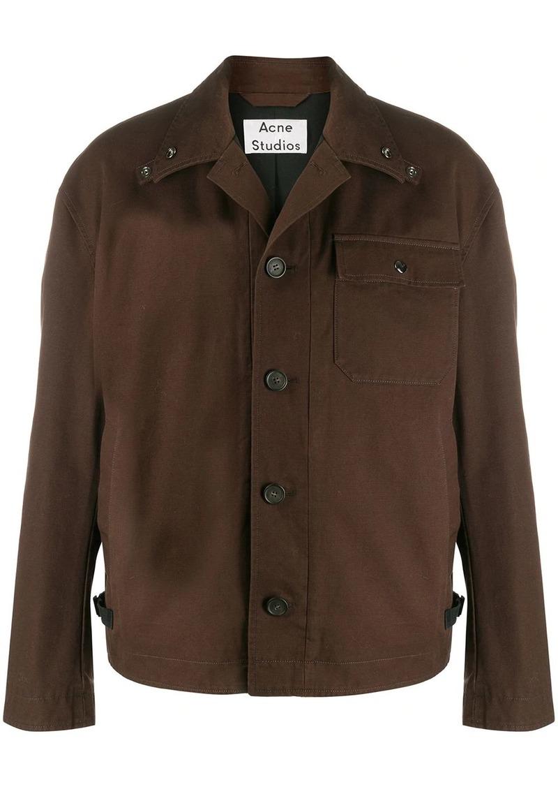Acne Studios cotton-canvas shirt jacket