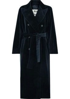 Acne Studios Cotton-velvet Coat