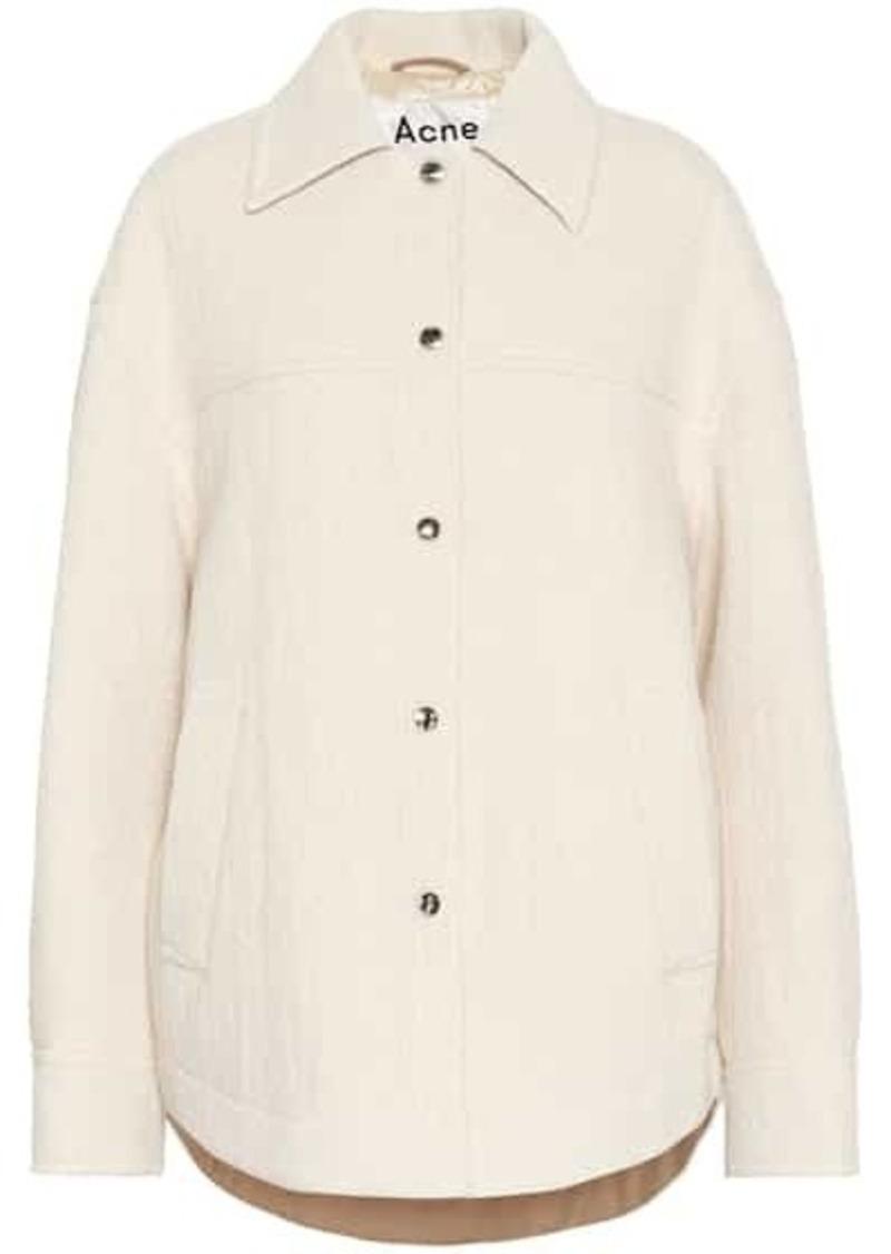 Acne Studios Cotton, wool and alpaca jacket