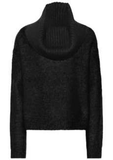 Acne Studios Cowl-neck mohair-blend sweater