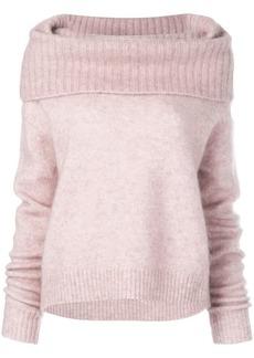 Acne Studios cowl neck sweater