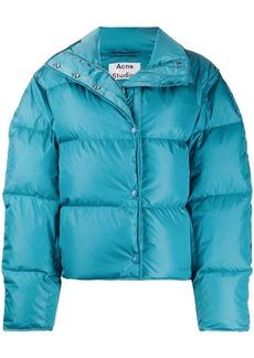 Acne Studios cropped padded jacket